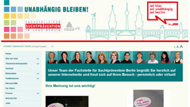 Fachstelle für Suchtprävention im Land Berlin